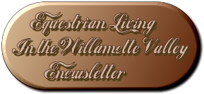 newsletter for equestrian living in Oregon