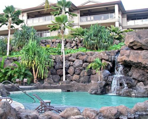 the pool at Ho'olei Wailea Maui - a Wailea resort destination