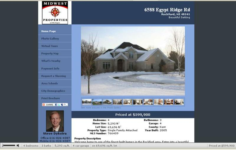 Agent Property Site  Example