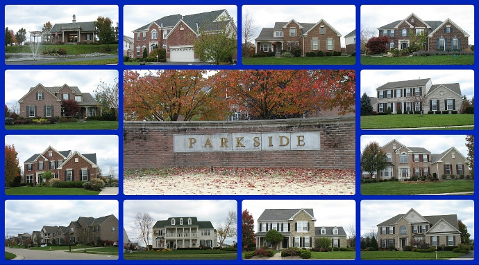 Parkside community of Mason Ohio 45040
