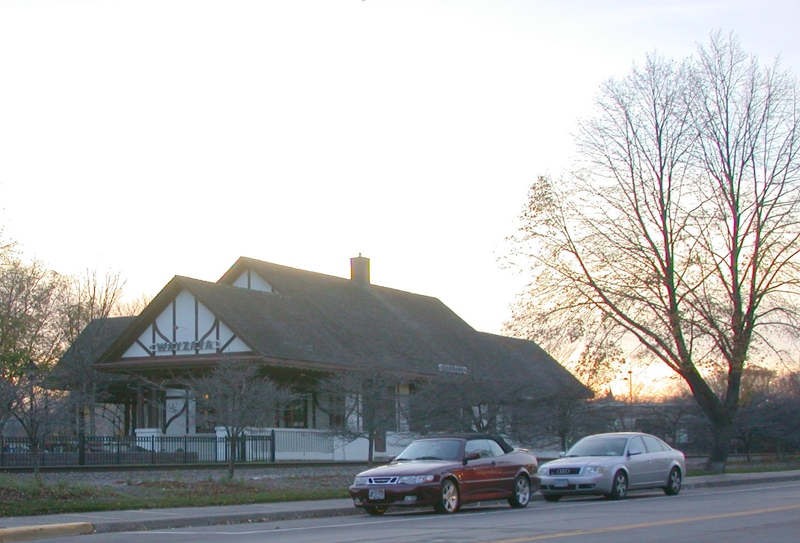 Wayzata Depot at Sunset