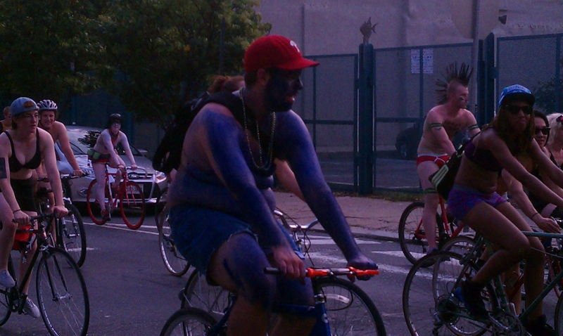 Philly Naked Bike Ride
