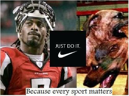 Nike Sponsors immoral dog fighter Michael Vick