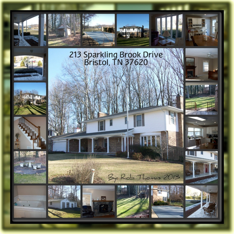 4 Bedroom Home With Pool For Sale In Forest Hills Bristol Tn 37620