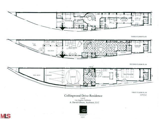 floor plan of collingwood residence