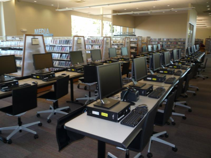 Lochwood Branch Library Grand Opening on Saturday