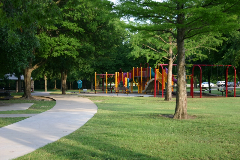 Crowley Park Trails & Playgrounds