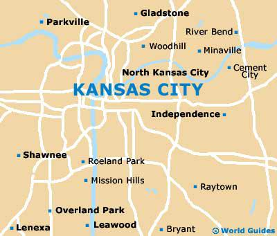 Map of Kansas City
