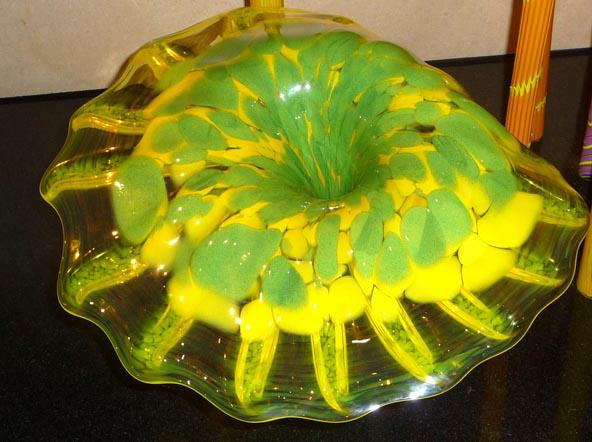 Chihuly Green Flower HomeRome Realty