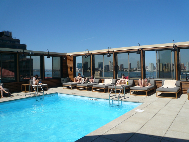 The Printing House By Equinox Opens Rooftop Pool In The