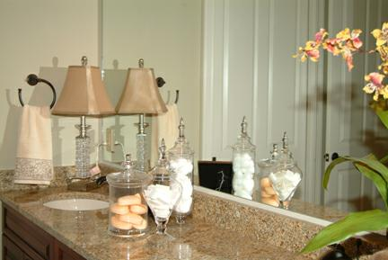 Table Lamps on Countertops