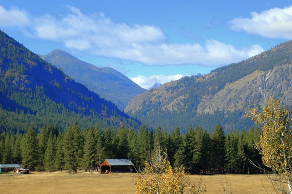 It is Raining on the East Side of the North Cascades