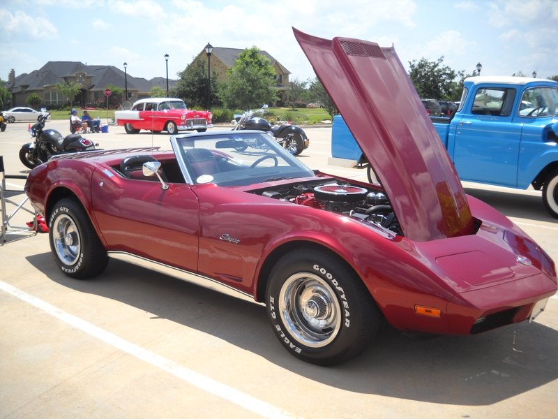 Car shown at Car Show in Katy
