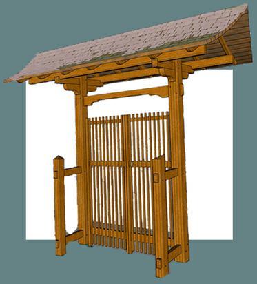 japanese garden gate plans japanese gate google search