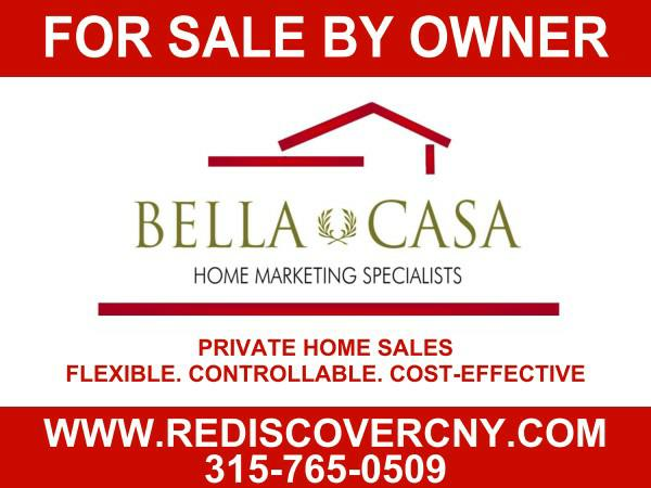 Bella Casa's Professionally Branded For Sale By Owner Yard Sign