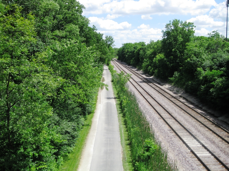 Green Bay Trail in Winnetka