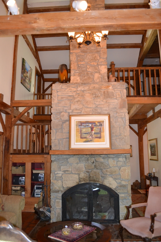 Janann way fireplace