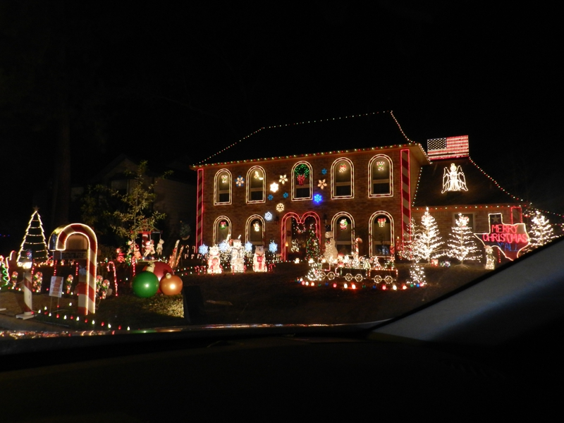 your kids will love the christmas lights in prestonwood forest houston texas 2011 - Prestonwood Forest Christmas Lights