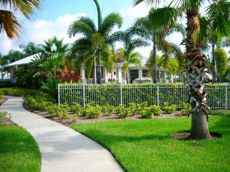 Walkway in Seminole Isle