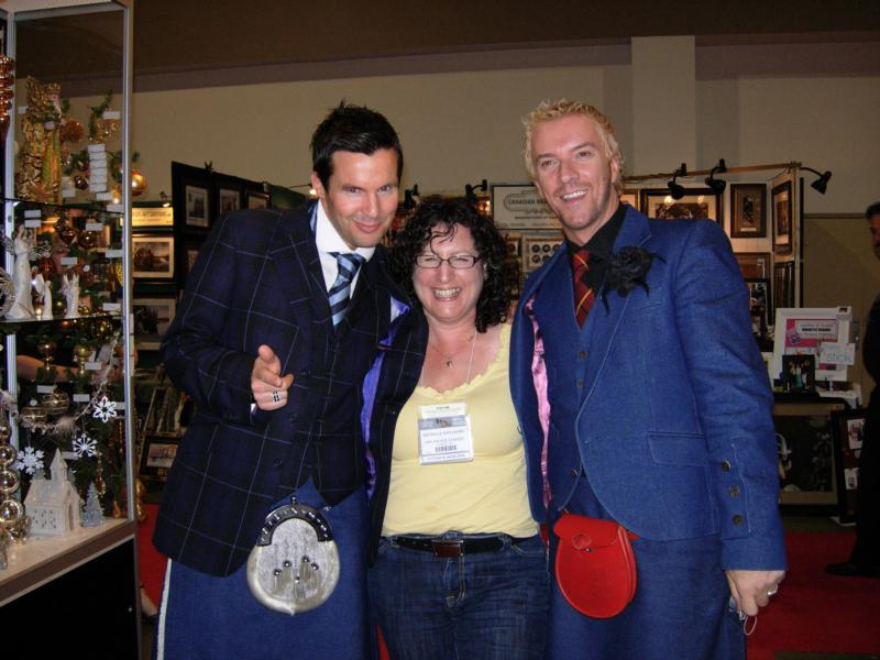 colin and justin meet michelle finnamore at the toronto. Black Bedroom Furniture Sets. Home Design Ideas