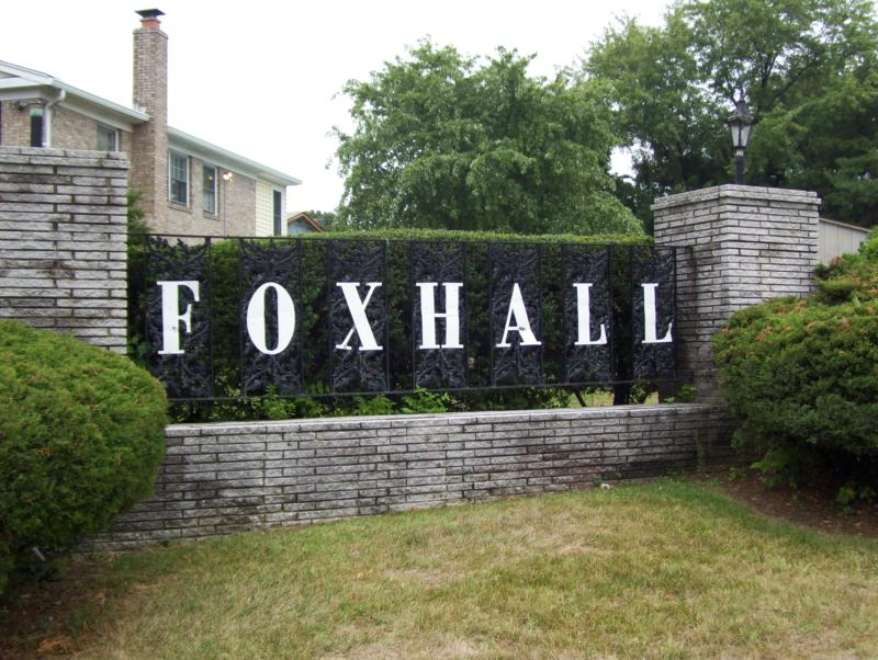 Foxhall Community sign