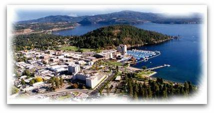 Coeur d'Alene, Idaho - City by the Lake