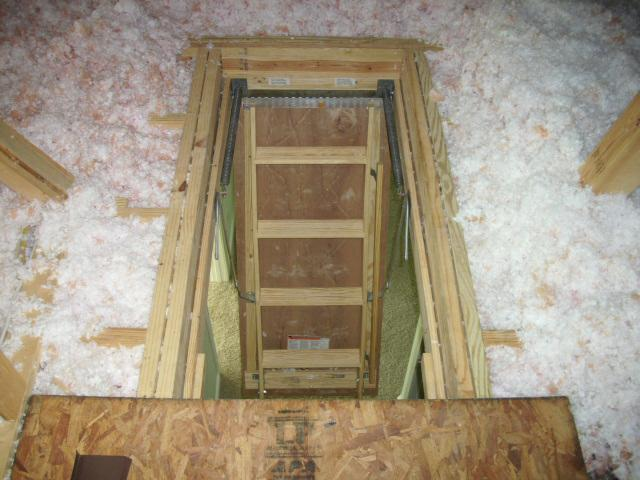 Now Imagine You Are The HVAC Tech Coming To Work On The Furnace Or A  Homeowner Carrying Personal Items Into The Attic For Storage.