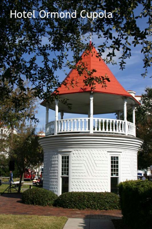 The Cupola. Fortunato Park, Ormond Beach