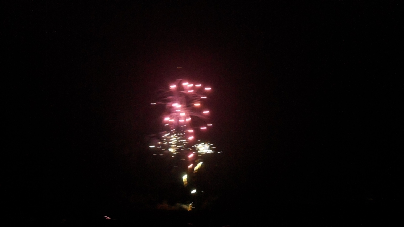Fireworks at Briarwood Country Club