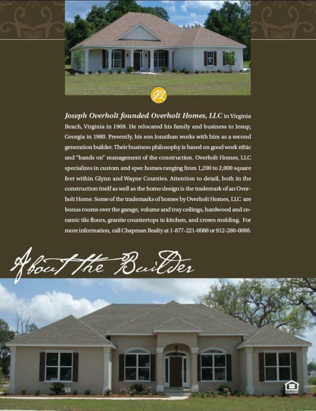 Sold By Chapman Realty In Brunswick Georgianew Home