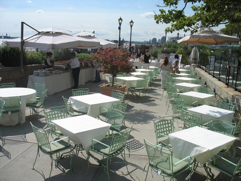 Battery Gardens Restaurant Battery Park City Manhattan New