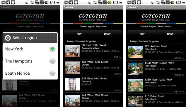 Corcoran Smartphone App