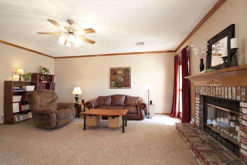 Living Room 13008 E 77th Street North in Owasso Oklahoma 74055