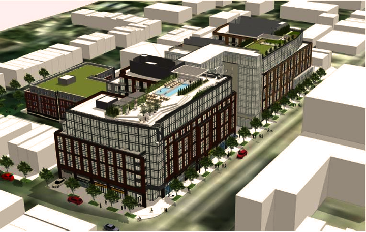New H Street Residential Planned