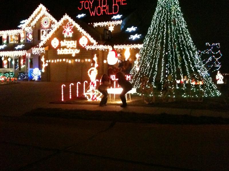 Omaha Christmas Lights With