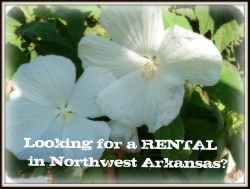 Rental properties in northwest arkansas