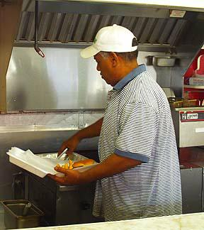 Robert Miller, Stop and Go Richmond KY World Famous BBQ picture by Lizette Fitzpatrick
