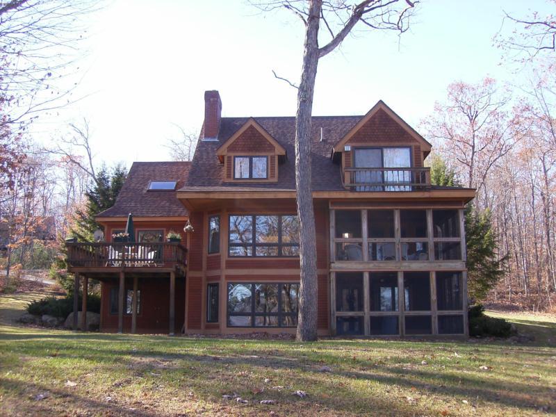 fryeburg maine luxury lake house real estate