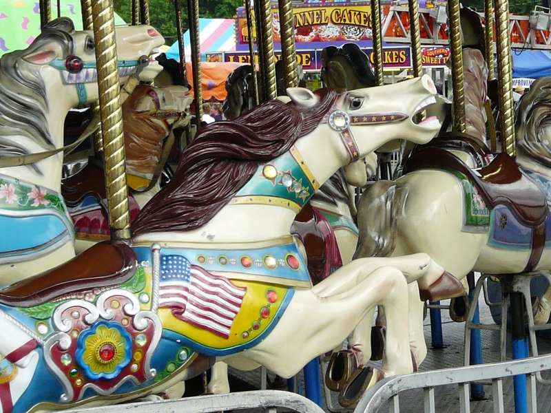 County Fair Carousel Horse