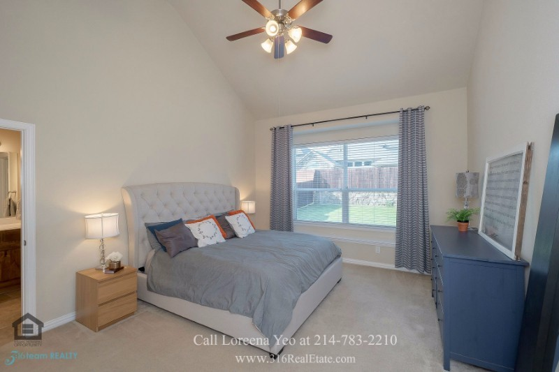 Homes in Little Elm TX - Inviting bedrooms await you in this Little Elm TX home for sale.