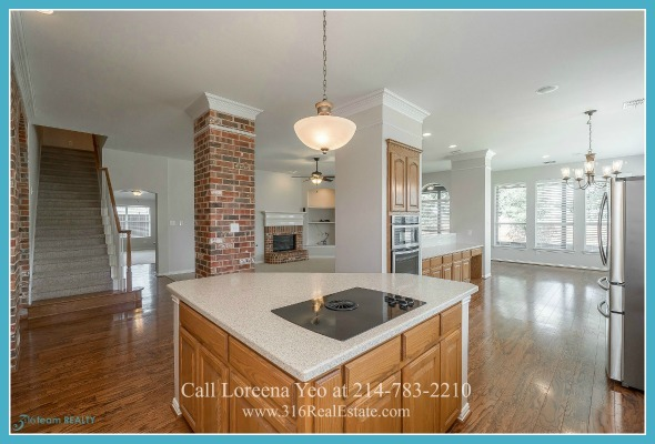 Homes in Frisco TX - Prepare your family's most loved meals in the fabulous gourmet kitchen of this Frisco TX home for sale.