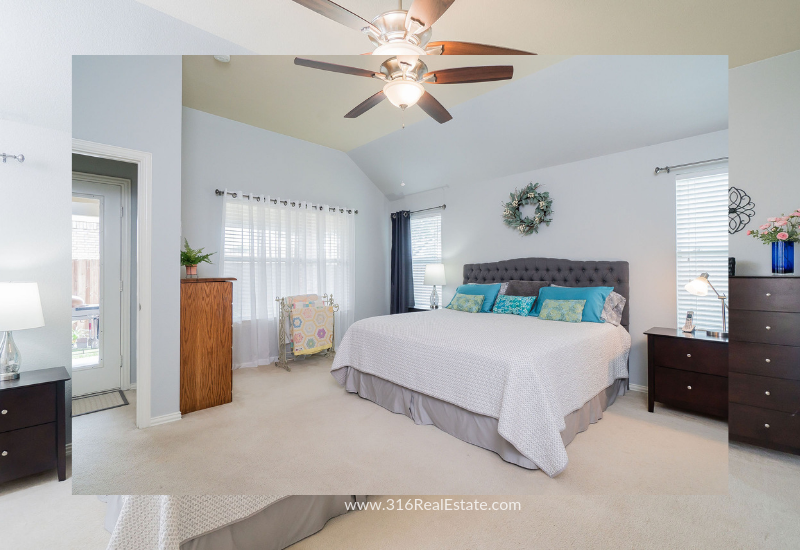 Little Elm TX  Homes for Sale - Enjoy good night's sleep in this Little Elm TX home spacious master bedroom.