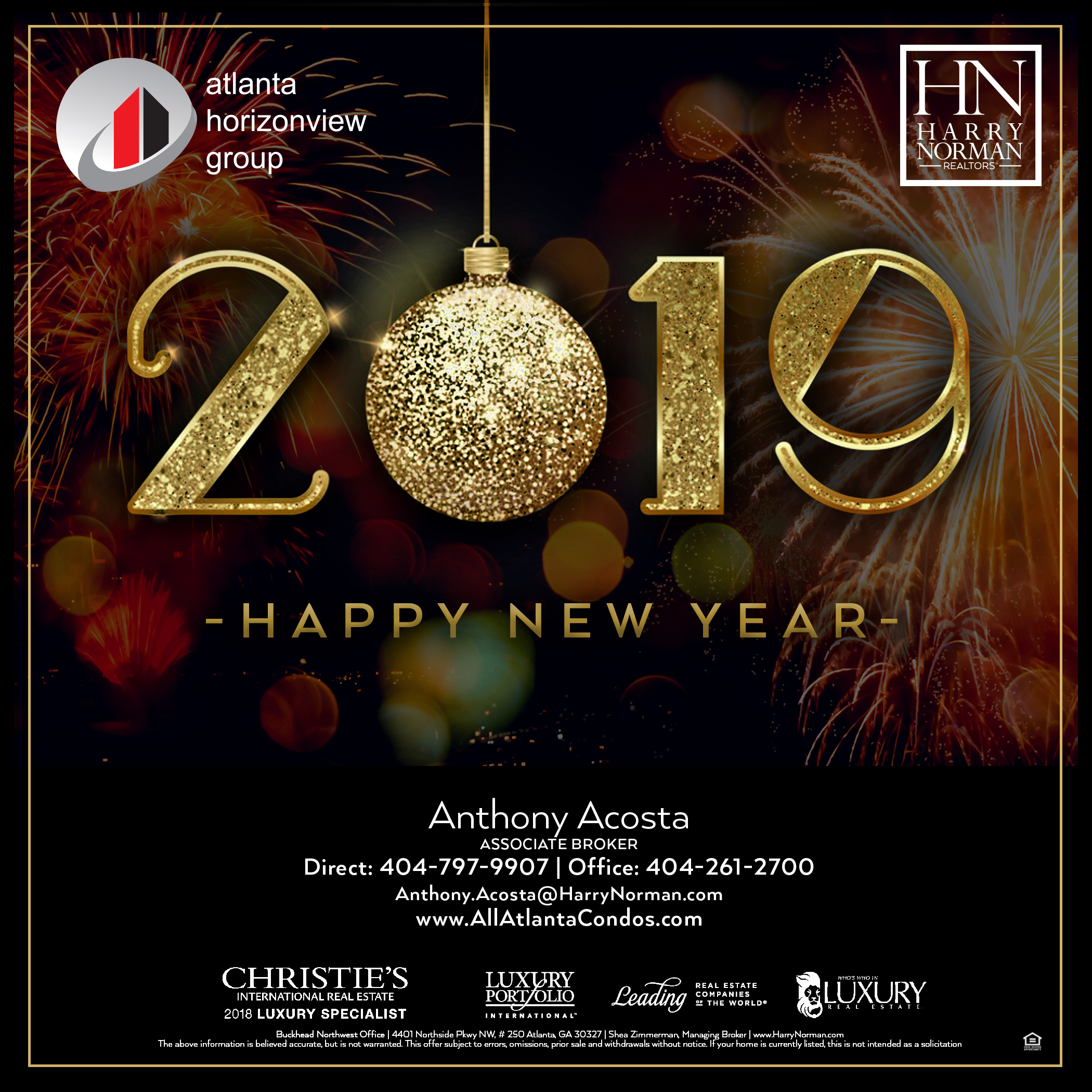 Happy New Year 2019 Wishing You All A Happy And P