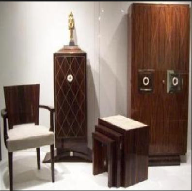 adding art deco style to your living room. Black Bedroom Furniture Sets. Home Design Ideas