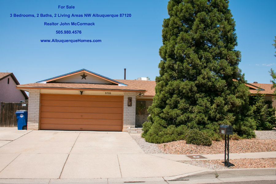 3 Bedroom, 2 Bath Home For Sale   5705 Chimayo Dr NW Albuquerque NM 87120, Albuquerque Realtor John McCormack