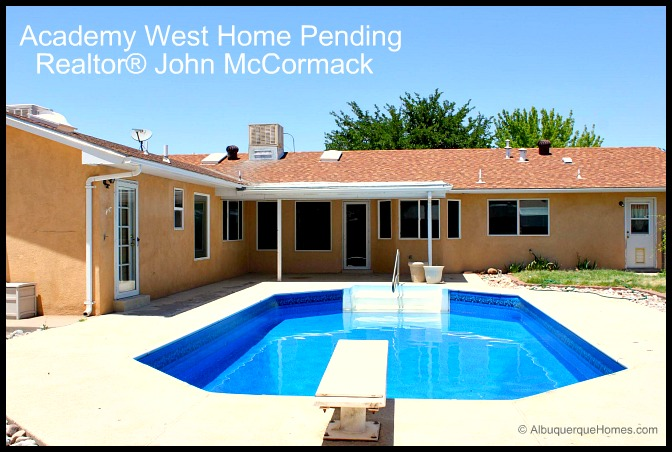 Albuquerque Academy Home With Swimming Pool Now Pending
