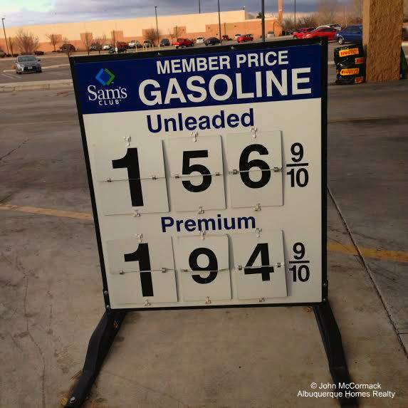 Gas Prices Albuquerque