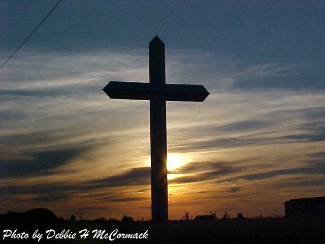 The Cross, Groom Texas, John McCormack, Debbie McCormack