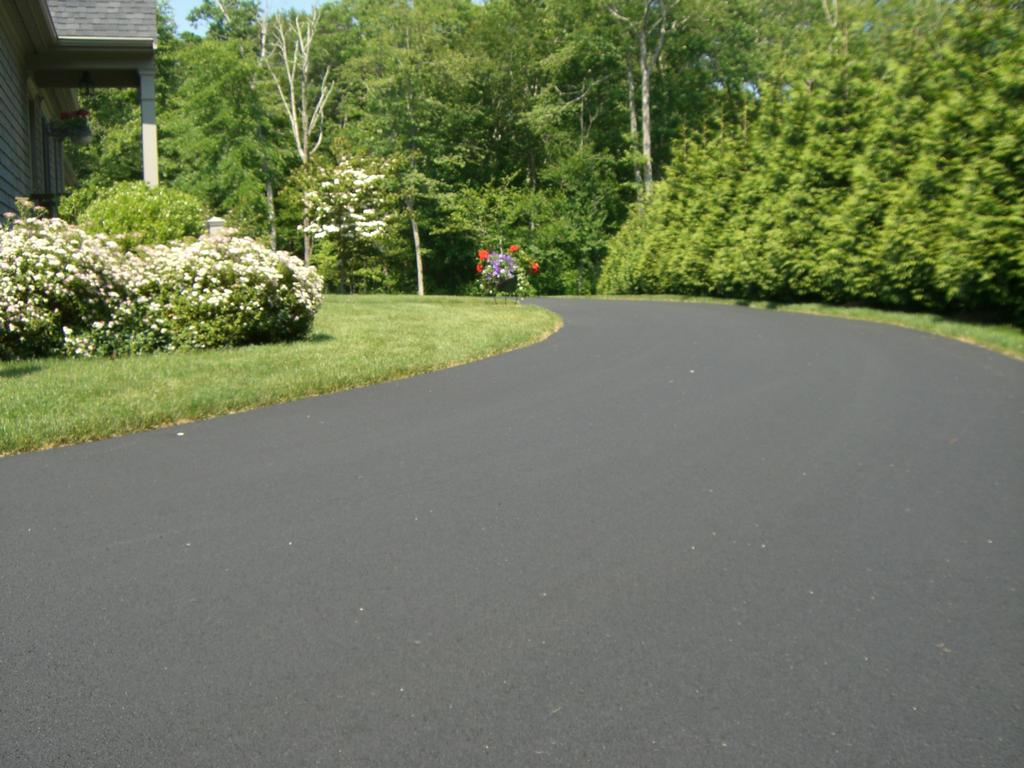 your driveway roll out the red carpet