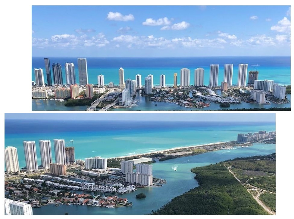 Amazing view Trump Tower Sunny Isles Beach with amazing view